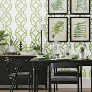 botanical inspired stampe botaniche abbellire casa into schemes dining rooms bold foliage florals invite