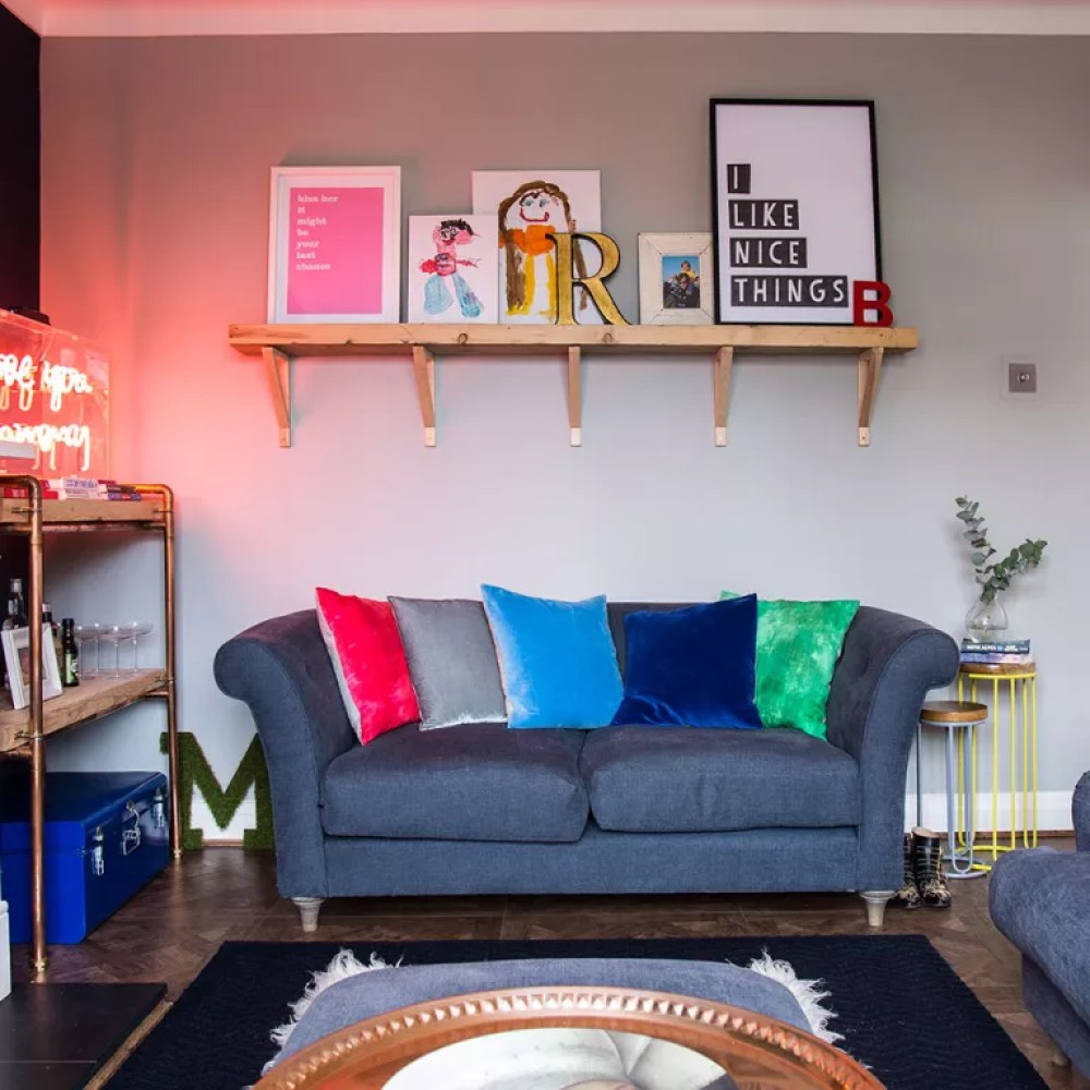 Image result for small living room lighting
