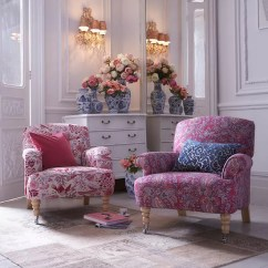 Wingback Chair Upholstery Ideas Graco Folding High Floral Print Sofa Trend For Spring 2015 | Ideal Home