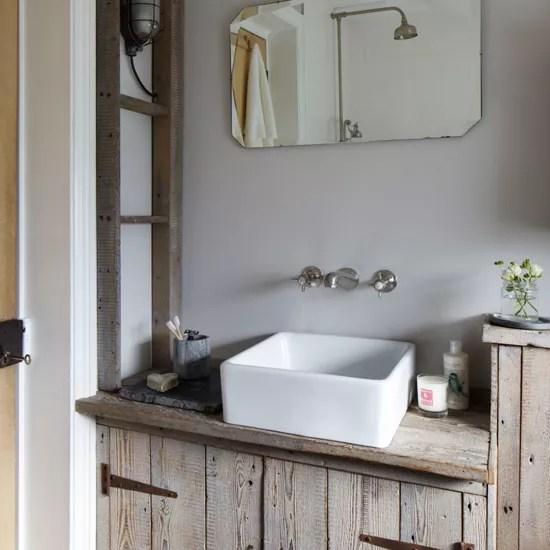 rustic bathroom accessories uk design