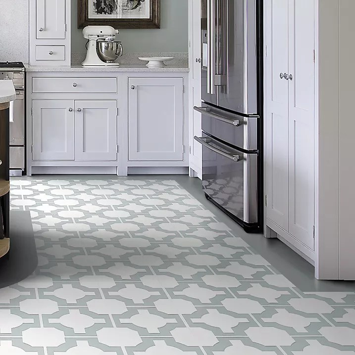 kitchen vinyl flooring small glass table our pick of the best ideal home neisha crosland parquet floor tiles