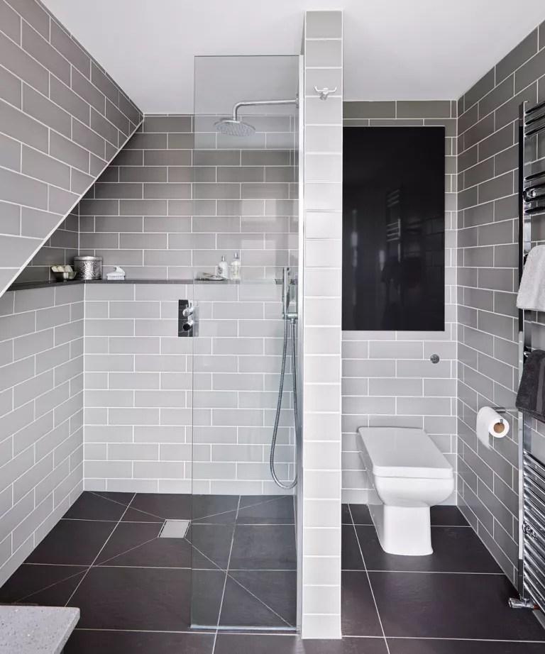 Grey bathroom ideas  Grey bathroom ideas from pale greys to dark greys