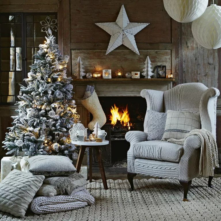Rustic Christmas Decorating Ideas For A Scandi Style Christmas