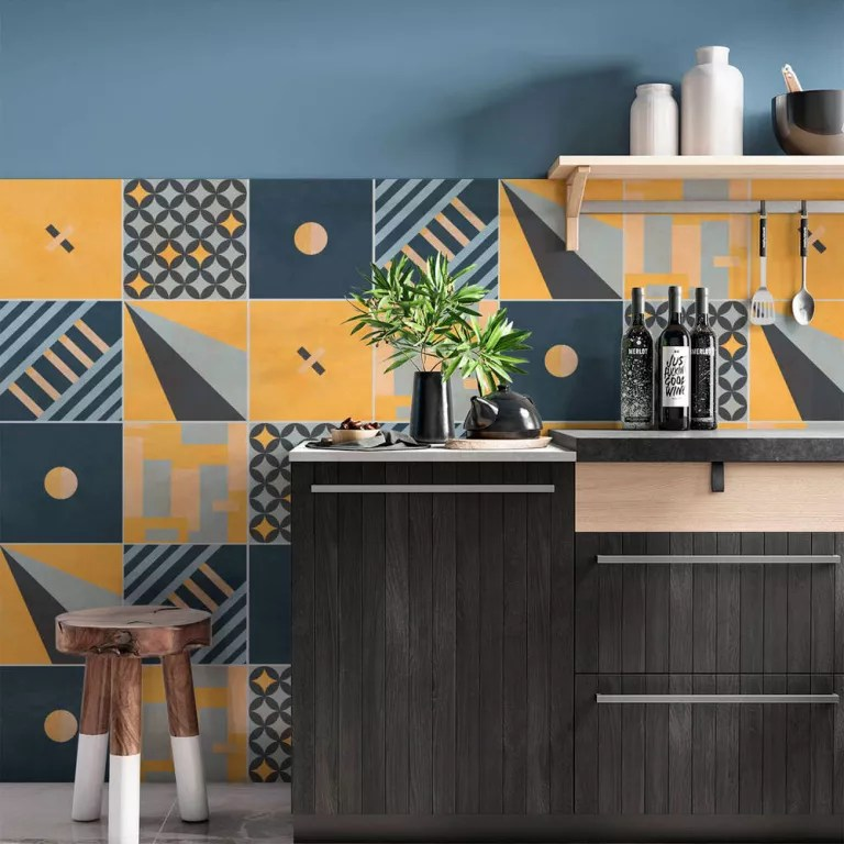 kitchen tile decals to change your