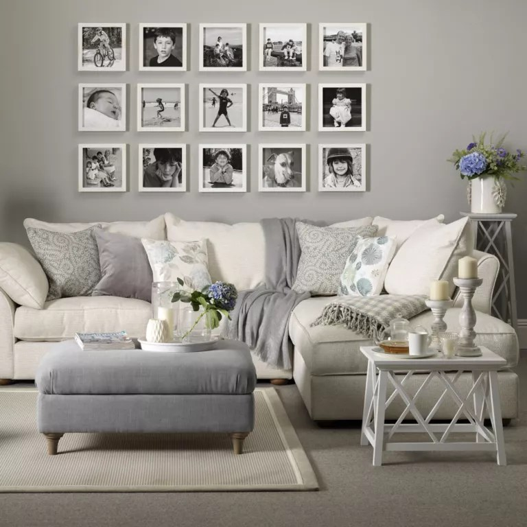 living room inspiration grey sofa mirrored furniture ideas and mustard