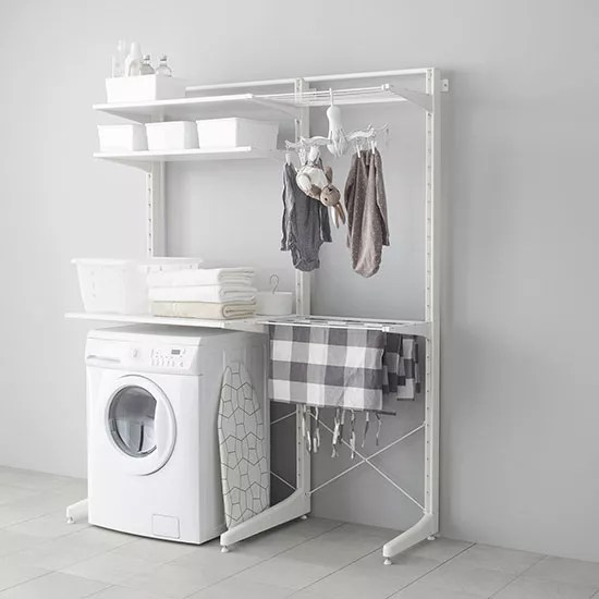 Space saving laundry solutions for small houses  Ideal Home