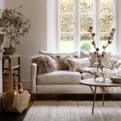All White Living Room Ideas Benches For India Ideal Home Smart Yet Relaxed