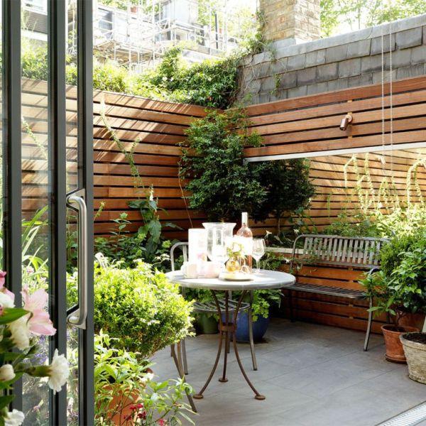 patio ideas gardens
