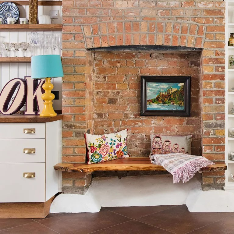 furniture ideas for living room alcoves rustic beach clever designs 21 alcove that make the most of fireplace bench