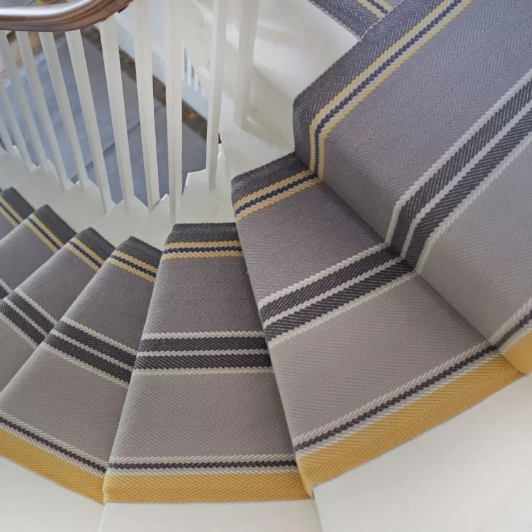 Best Stair Carpets – Our Pick Of The Most Fabulous Flooring For | Herringbone Carpet For Stairs | High Traffic | Textured | Classical Design | Striped | Carpet Stair Treads