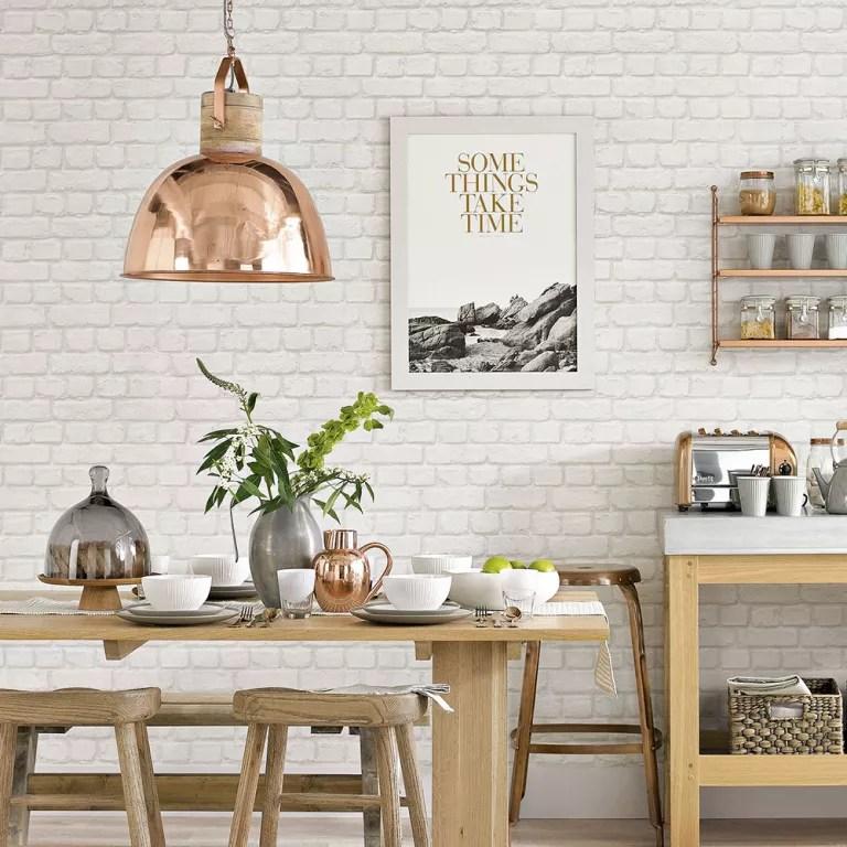 wallpaper for kitchen small island ideas kitchens
