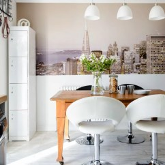 Wallpaper For Kitchen Wooden Countertops Ideas Kitchens
