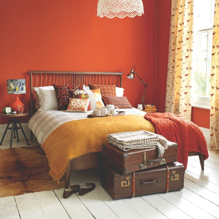 bedroom colour schemes colourful