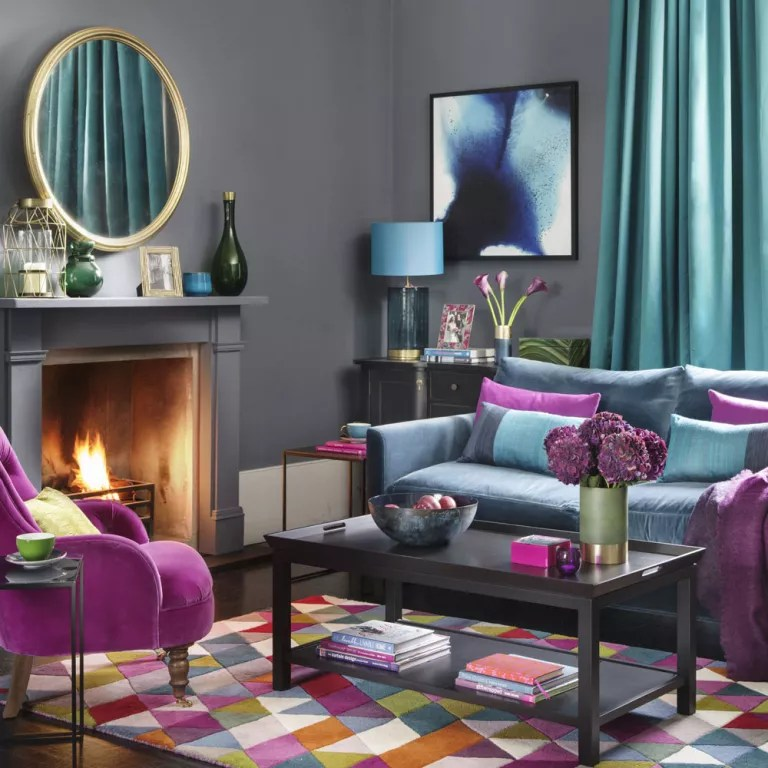 gray corner sofa uk nice sofas in kenya how to decorate your home with jewel tones