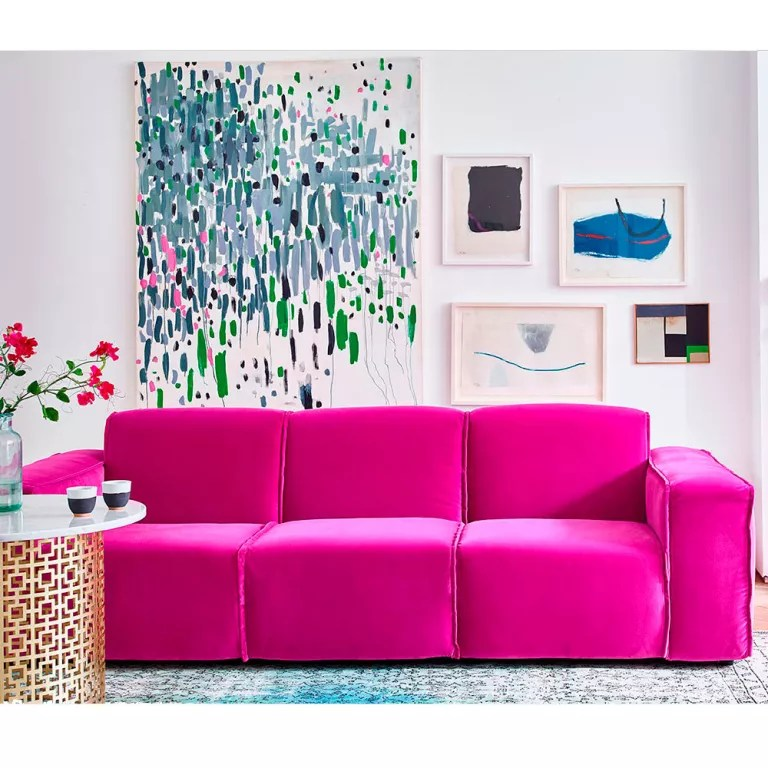 bright sofa vacuum cleaning velvet sofas our pick of best ideal home crawford large in designers guild varese cassis