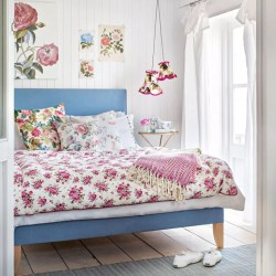 cottage country bedroom bedrooms floral modern distract pattern bed room idea give ellis oka cassandra cushions linen housetohome