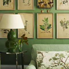 Colour Schemes For Living Rooms Green Fancy Leather Room Sets Botanical-inspired That Invite Florals And ...