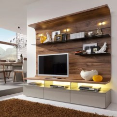 Sleek Tv Unit Design For Living Room Traditional Sofa Sets Ways To Disguise Your Hide A Cabinet Wall Mount