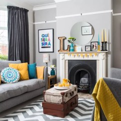 Second Hand Living Room Furniture Ideas Tips Explore This Three-bedroom 1930s Semi Full Of Upcycled ...