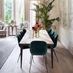 Green Dining Room Table And Chairs Cheap Chair Covers Vancouver How To Decorate With The Most Peaceful Of Colours