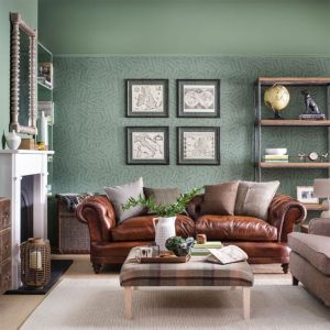 decorate living botanical peaceful dominic blackmore country idea relaxed colours credit