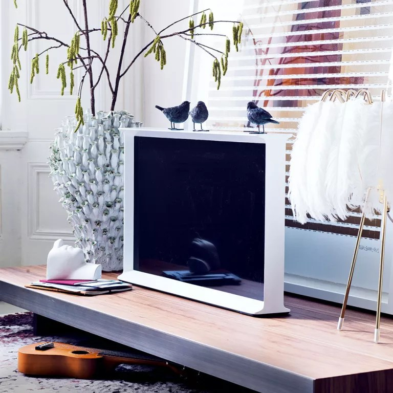 hiding tv in living room wall units for rooms ways to disguise your hide a cabinet mount