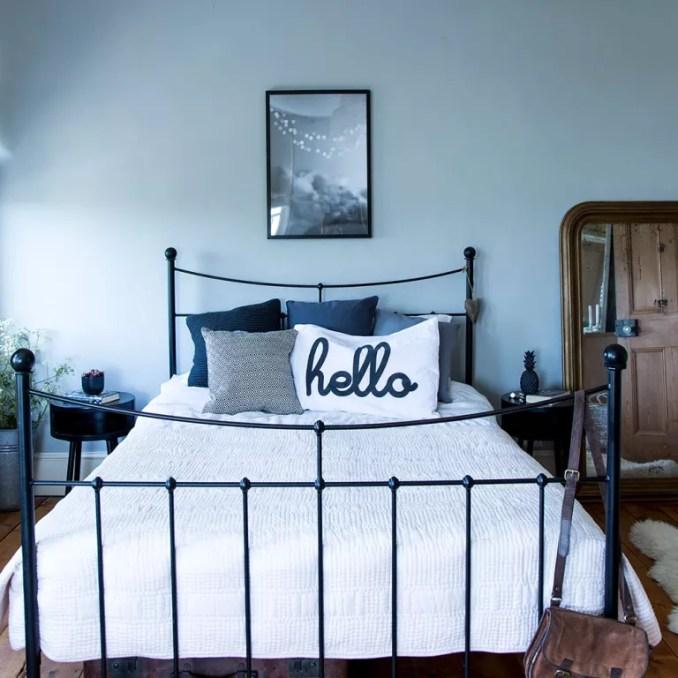 Grey bedroom ideas – grey bedroom decorating – grey colour ...