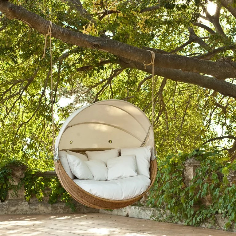 swing egg chair uk swivel dining chairs with casters garden swings to make your summer along nicely