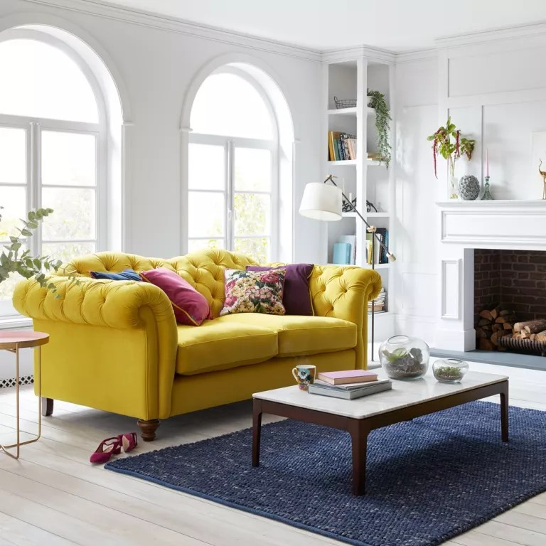 dfs sofas 2 seater l shaped sofa joules launches a new range for ideal home windsor