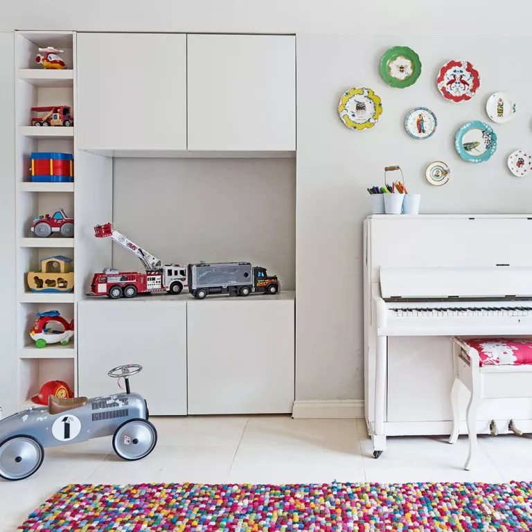 kid living room furniture wall clock family design ideas that will keep everyone happy kids corner