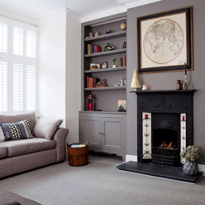 Decorating with grey walls in living room for Living room ideas with gray walls