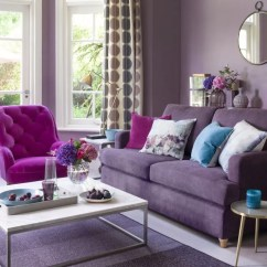 Purple Living Room Furniture Sofas Interior Colors Ideas Ideal Home Dusty