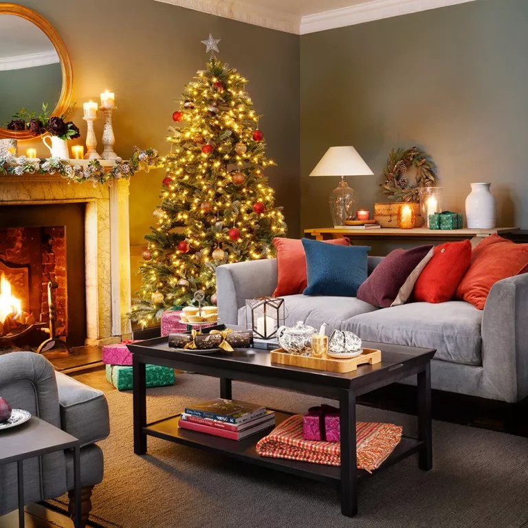 Modern Christmas Decorating Ideas Christmas Decorating Ideas Christmas Decorations Photo Gallery Ideal Home
