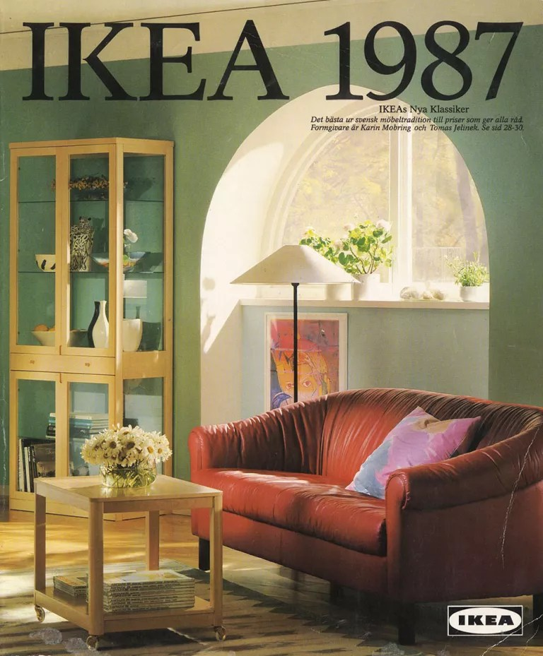 leather sofa covers ikea boconcept carlton corner it's ikea's 30th birthday: celebrating 30 years since it ...
