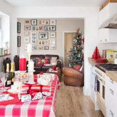 Decoration Kitchen Freestanding Christmas Decorating Ideas That Will Cheer Up The Cook Candles