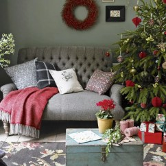 Christmas Decoration Ideas For Small Living Room Modern Tv Furniture Decorating Green With Decorations