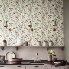 Wallpaper For Kitchen Ceramic Tile Ideas Kitchens Easy Updates