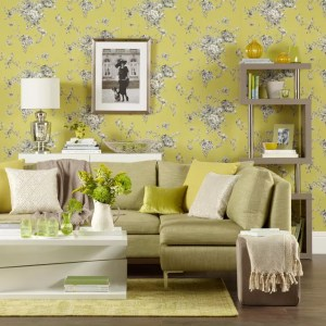 living chartreuse yellow soothing walls spaces sophisticated rooms idea decorating feature carpet decoration idealhome choosing roques neil rowland credit grey
