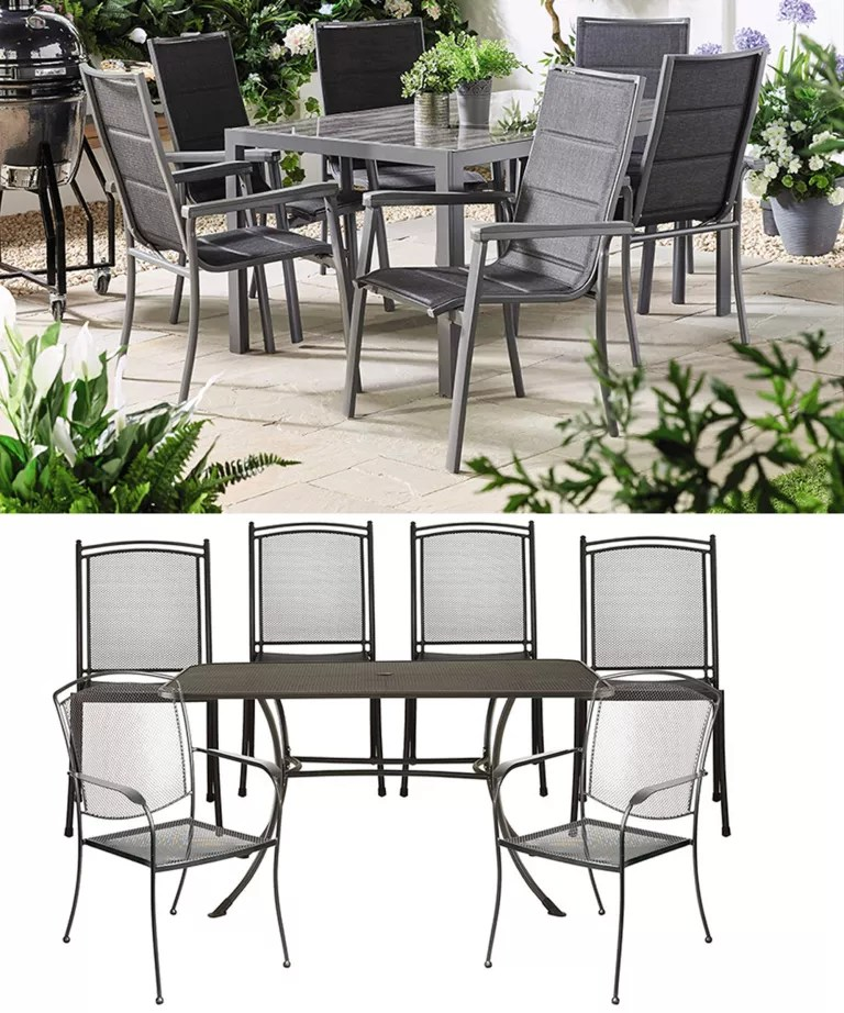 Patio Furniture Table And Chairs Aldi Versus John Lewis Garden Furniture Can You Tell Them Apart