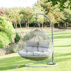 Egg Swing Chair White Fabric Dining Chairs Hot Deals! B&m Garden Furniture Now On Offer At Even Lower Prices | Ideal Home