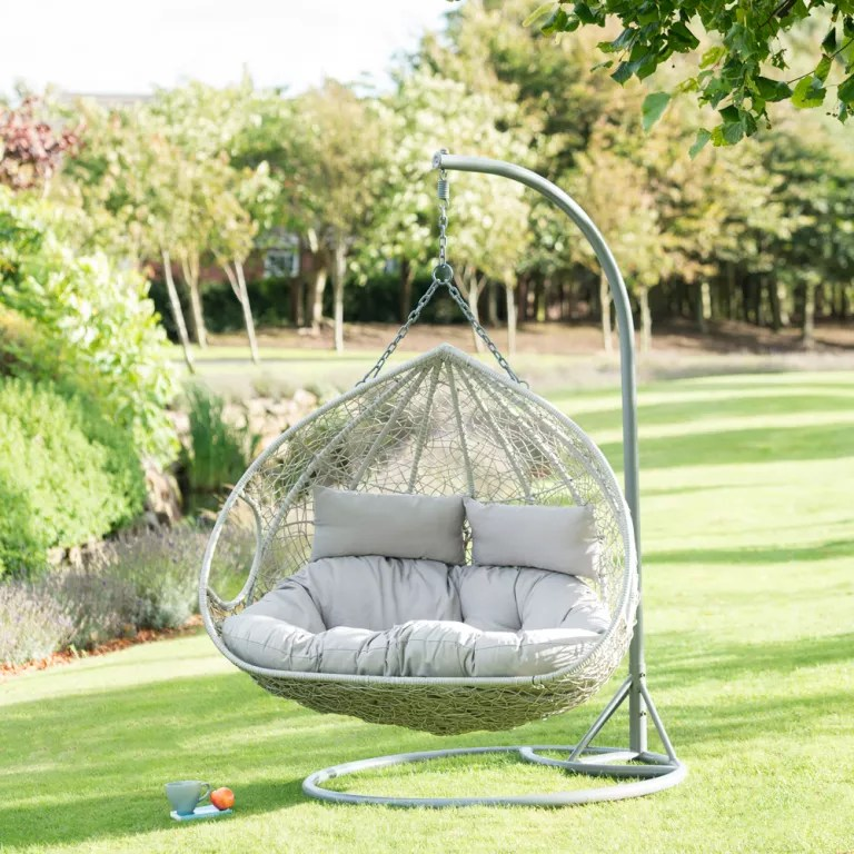 Double Egg Chair Hot Deals B M Garden Furniture Now On Offer At Even Lower Prices