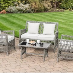 2 Seater Table And Chairs B M Dining Chair Covers Walmart Canada Hot Deals Garden Furniture Now On Offer At Even Lower Prices This Rolled Rattan Effect Sofa Set Is Perfect To Add Country Chic Your The Comprises A Two Seat Armchairs Coffee