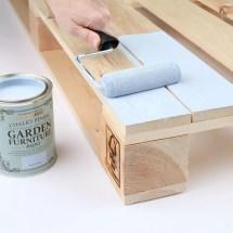 Make Pallet Garden Furniture Step-step Guide