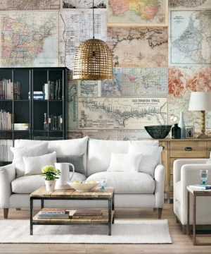 living rooms modern wall grey decor timeless scream map designs walls interior decoration area pattern idealhome space brighten dominic blackmore