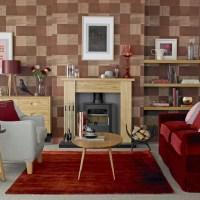 Living room wallpaper  Wallpaper for living room  Grey