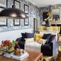 Living room wallpaper  Wallpaper for living room  Grey ...