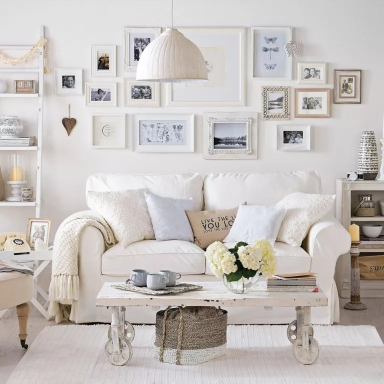 shabby chic small living room ideas accent chairs for under 100 decorating furniture