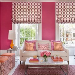 Orange Living Room Designs Green Curtains Pink Ideas Rooms Decorating