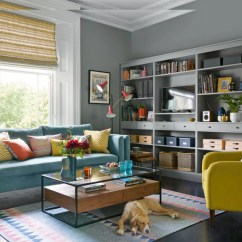Living Room Ideas Dark Grey Sofa English Style Small Furniture And Mustard