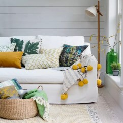 All White Living Room Ideas Remodel Small Ideal Home Daffodil Yellow